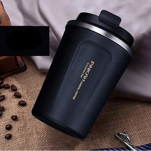 BAISPO  Stainless steel Eco-friendly Travel Portable Mug Coffee milk Thermos cup Business style Creative Gifts mug Vaccum Flasks