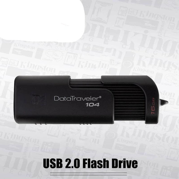 Kingston DT104 USB Flash Drive 16GB Business Office Car 32GB USB Stick USB 2.0 64GB Pen Drive new