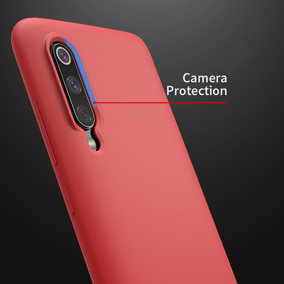 Nillkin for xiaomi mi 9 case Liquid Silicone Smooth Protective Back Cover for xiaomi mi9 case Mi 9 explore global case 6.39'' - 88digital