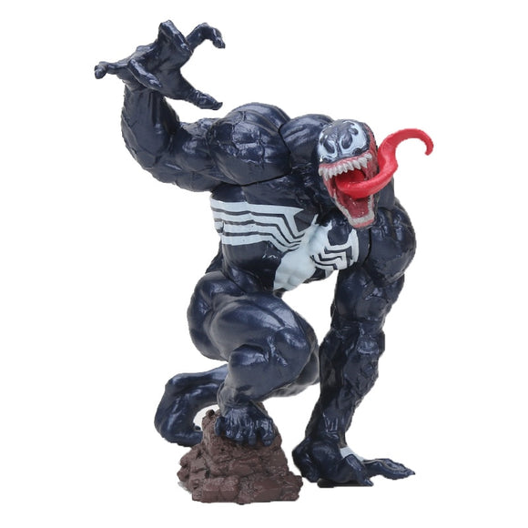 Movie Marvel Character Venom The Amazing Spiderman BJD Figure spider man Model Toys Collection children gift 18cm