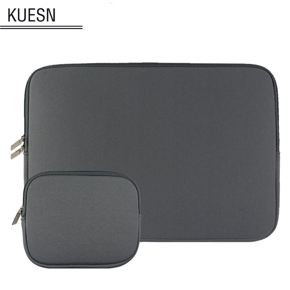 Universal tablet case laptop bag pocket for 11 12 13 15.6 inch notebook macbook lenovo acer dell asus HP ultrabook sleeve pouch - 88digital