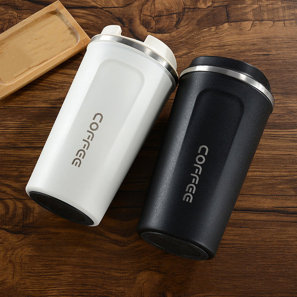 380ml/510ml Stainless Steel Coffee Thermos Mug Portable Car Vacuum Flasks Travel Thermo Cup Water Bottler Thermocup