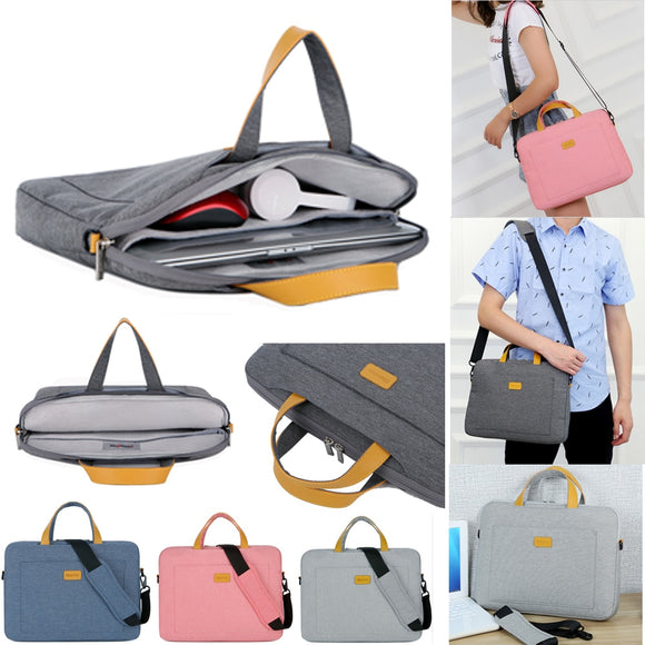 Nylon 13 14 15.6 Laptop Shoulder bag Sleeve Pouch Bag For Xiaomi air Macbook Air Pro Lenovo Dell HP Asus Acer Notebook Case - 88digital