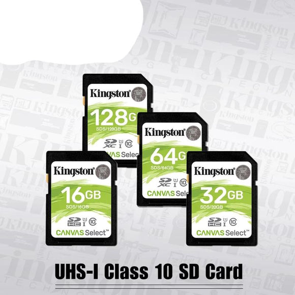 Kingston SD Card 128GB 64GB 32GB 16GB memory card Class10 cartao de memoria SDHC SDXC uhs-i HD video carte sd For Camera