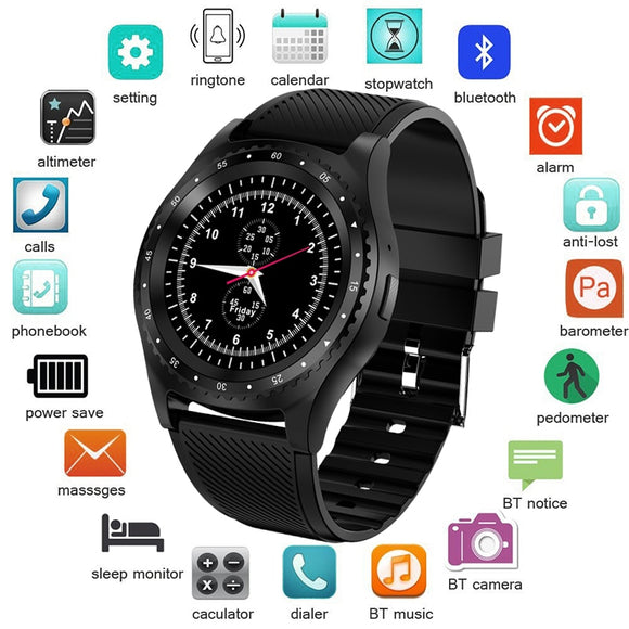 LIGE 2019 New Smart Watch Men Women Bluetooth Touch Screen Waterproof Sports Smartwatch Support SIM Card Reloj inteligente +Box