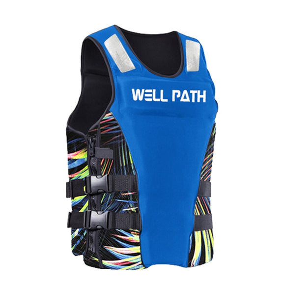 Life Vest Men Women Neoprene Profession Fishing Vests Surfing Drifting Buoyancy Life jackets For Adult Swimming vest for kids