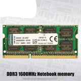 Kingston Original Memory Intel Gaming Memory 1600Mhz DDR3 RAM 8GB 4GB  Notebook memory RAM Memory Sticks
