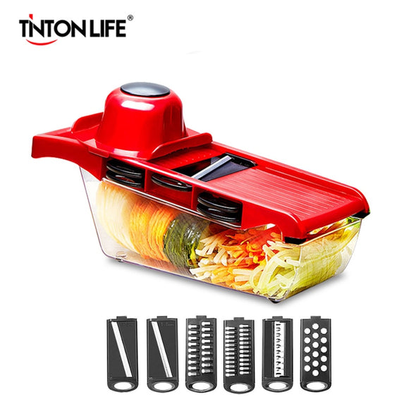 Vegetable Cutter Steel Blade Mandoline Slicer Manual Potato Peeler Carrot Cheese Grater Dicer Kitchen Accessories