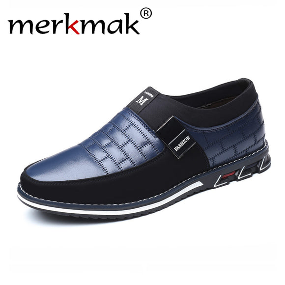 Genuine Leather Men Casual Shoes Brand Mens Loafers Moccasins Breathable Slip on Black Driving Shoes Plus Size 38-46