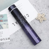 20 Color New 260ML Slim Insulated Vacuum Flasks Thermal Bottles Thermos Coffee Mug Stainless Steel Thermos Cup Hot Water Bottle