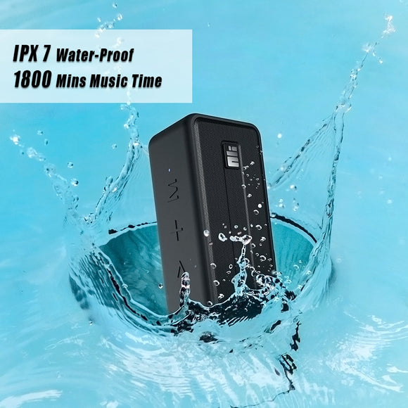 NILLKIN Bluetooth Speaker IPX7 Waterproof Outdoor Speaker Bluetooth 5.0 Wireless Stereo Booming Bass Speaker 1800 Mins Play TWS - 88digital