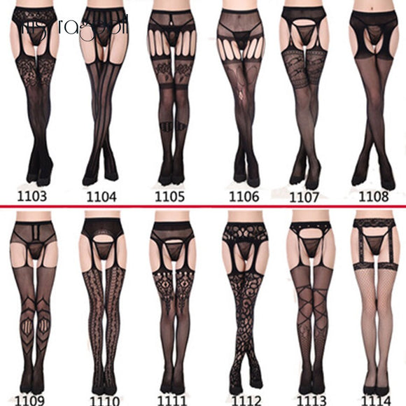 Women Sexy Lingerie Hollow Out Tights Lace Sexy Stockings Lingerie Sexy Women Hot Erotic Pantyghose Fantasias Sex Erotic Product