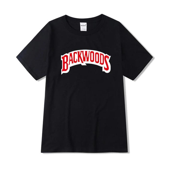 Backwoods t shirt 2019 New Summer Fashion Casual Cotton Round Neck Short-sleeved T-shirt Harajuku Hip-Hop T-shirt Swag T shirt