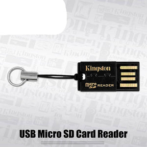 Kingston Usb Micro SD Card Reader SDHC SDXC High speed ultra mini Flash Memory Card Adapter Card Reader