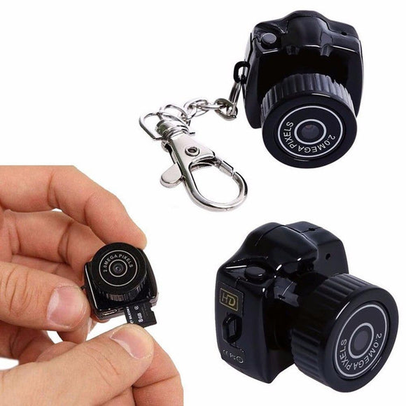 2019 Y2000 Mini Camera Camcorder HD 1080P Micro DVR Camcorder Portable Webcam Recorder Camera