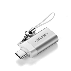 Ugreen Adapter USB Type C to USB 3.0 Type-C Adapter OTG Cable Converters For Chromebook Macbook Huawei Samsung S10 S9 USB C OTG