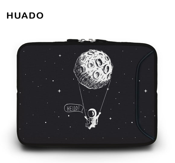 Portable Laptop Bag For Macbook 10 11.6 13.3 14.4 15.4 15.6 17 17.3 inch Netbook Zipper Sleeve Case Tablet Cover computer Bags - 88digital
