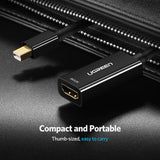 Ugreen Mini DisplayPort to HDMI Adapter Mini DP Cable Thunderbolt 2 HDMI Converter for MacBook Air 13 Surface Pro 4 Thunderbolt