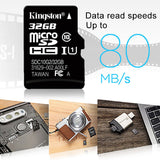 Kingston flash Memory Card 128GB 64GB 32GB 16GB Micro sd card Class10 UHS-1 8G C4 Microsd TF/SD Cards for Smartphone