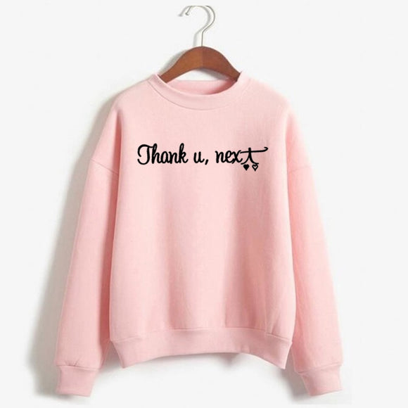 Ariana Grande Sweatshirt Women Thank U Next God Is A Woman Crewneck Sweatshirts Hoodie Womens Clothing  Harajuku - 88digital