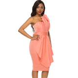 Women Tube Top Dress Bodycon Off Shoulder Backless Evening Party Sexy Dinner Clubwear Lady Slim Tunic Elegant Tight Summer Robes - 88digital