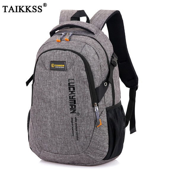 Fashion Men's Backpack Bag Male Polyester Laptop Backpack Computer Bags high school student college students bag male - 88digital