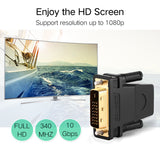 Ugreen DVI to HDMI Adapter Bidirectional DVI-D 24+1 Male to HDMI Female Cable Connector Converter for HDTV Projector HDMI to DVI