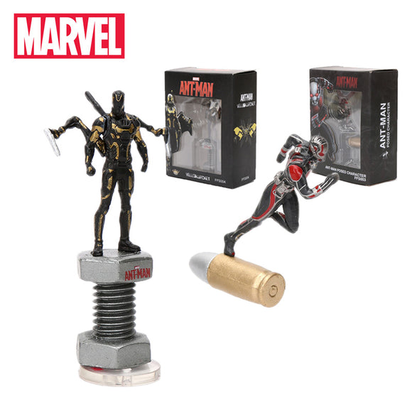 2pcs 5-7cm Marvel Toys Avengers Endgame Mini Ant man Yellowjacket PVC Action Figures Superhero Collectible Model Doll Toy Antman