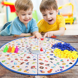 Puzzle Detectives Looking Chart Board Game Brain Training Educational Game Strategy High Quality Plastic Card Party For Kid