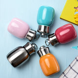 HOT SALE!! 200ML/280ML Mini Cute Coffee Vacuum Flasks Thermos Stainless Steel Travel Drink Water Bottle Thermoses Cups and Mugs
