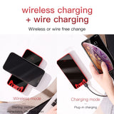 Baseus Tmall Cat 10000mAh Portable Qi Wireless Charger Power Bank For iPhone 11 Pro Max Xiaomi mi 9 External Battery Powerbank
