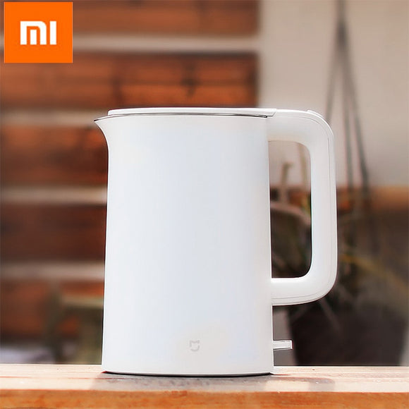 Original Xiaomi Mijia 1.5L Electric Water Kettle Auto Power-off Protection Wired Handheld Instant Heating Electric Kettle - 88digital