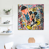 Alec Monopoly Known Artist Street Art Canvas Painting Living Room Home Decoration Modern Wall Art Oil Painting Posters Pictures