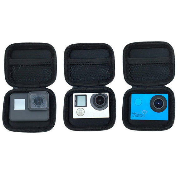 Portable Mini Box Xiaoyi Bag Sport Camera waterproof Case For Xiaomi Yi 4K Gopro Hero 7 6 5 4 3 SJCAM Sj4000 EKEN H9 Accessories - 88digital