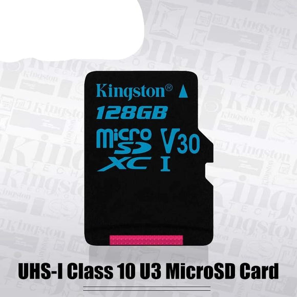Kingston MicroSD 32GB UHS-I U3 flash Memory Cards 64GB Micro SD Card Class10 90MB/S TF Card 128GB Support HD 3D 4K Video