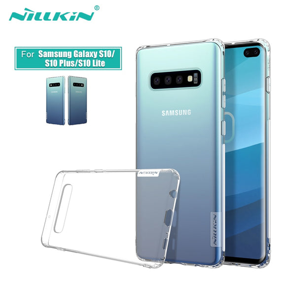 NILLKIN Soft nature TPU Case For Samsung Galaxy S10e / S10 / S10 Plus Case Cover 5.8''/6.11''/6.4'' for Galaxy S10 / S10 plus - 88digital