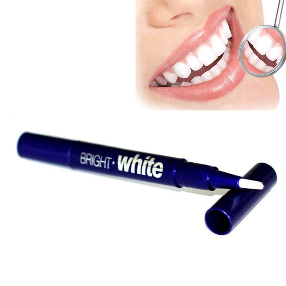 1Pc Portable Dental Teeth Whitening Gel Pen/Strip Tooth Cleaning Bleaching Brush Daily Life Teeth Bright White Pens Tool - 88digital
