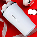 Stainless steel Eco-friendly Travel Portable Mug Coffee milk Thermos cup Business style Creative Gifts mug Vaccum Flasks