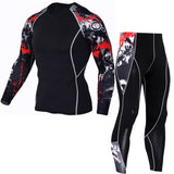 Winter Men Thermal Underwear Sets Elastic Warm Fleece Long Johns for Men Polartec Breathable Thermo Underwear Suits 2
