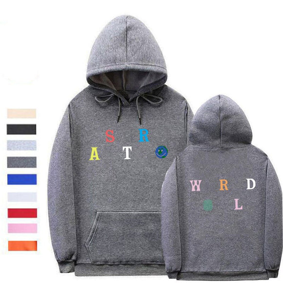 Streetwear Multiple styles Astroworld hoodie Sweatshirt Man and woman fashion letter print Hoodies Pullover