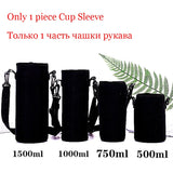 UPORS Large Capacity Stainless Steel Thermos Portable Vacuum Flask Insulated Tumbler with Rope Thermo Bottle 500/700/1000/1500ml