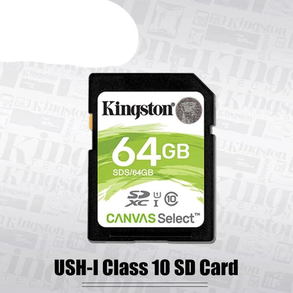 Kingston SD Card 128GB 64GB 32GB 16GB memory card Class10 uhs-i HD video carte sd for laptops DSLR digital video cameras