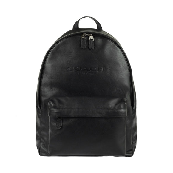 Original Coach Men PEBBLE LEATHER CHARLES BLACK BACKPACK F54786/F49313/F23247