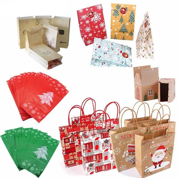 Christmas Gift Boxes 2019 Merry Christmas Ornaments Christmas Decorations for Home Happy New Year Decor 2020 Navidad Xmas Gift
