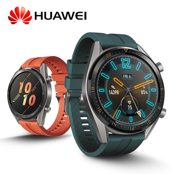 Huawei Watch GT 2019 Bluetooth Smart Watch,Ultra-Thin Long Lasting Battery Life, Waterproof, Compatible with iPhone and Android