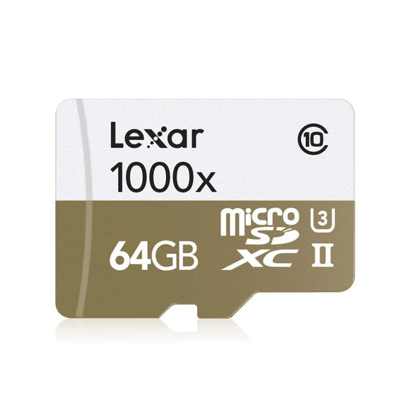 Lexar 1000x Micro SD  Card 32GB Class10 tf card 64GB SDHC SDXC 128GB  up to 150MB/s Memory Card 256GB  for Drone Sport Camcorder