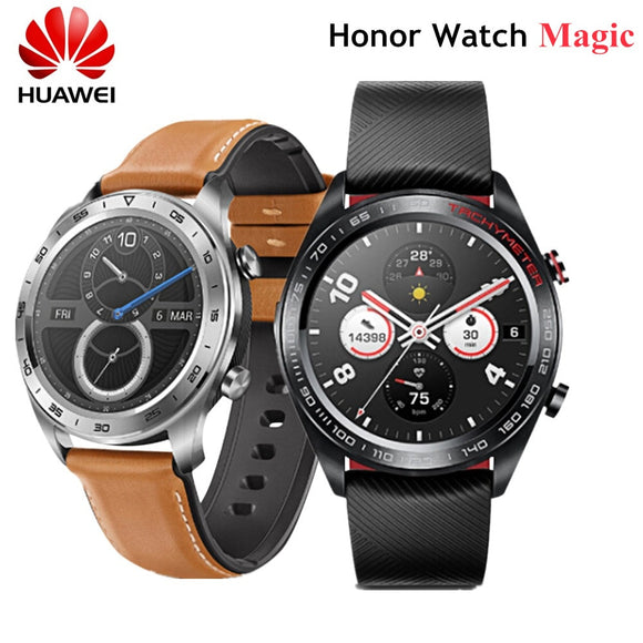 HUAWEI Honor Watch Magic Smart Watch Lightweight Design One Week Battery Life 50 Meters Waterproof AMOLED Color Screen