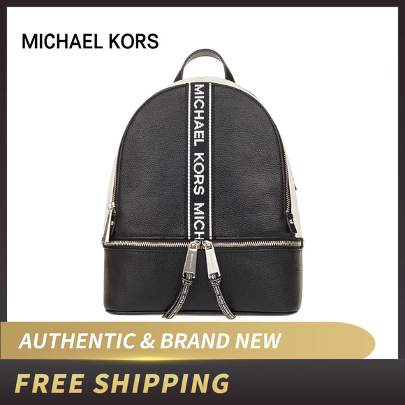 Authentic Original & Brand new luxury Michael Kors Rhea Zip md Backpack 30H8SEZB6T