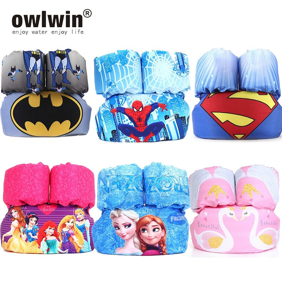 owlwin puddle jumper Child swim rings Baby life jacket life vest Children Kids Water Sports Foam arm rings 10-30KG