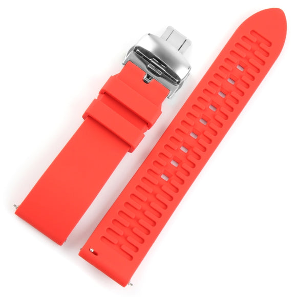 22mm Silicone Strap Rubber Watchband for Seiko 5 SRP SKX007 PROSPEX PADI Casio Edifice Watch Bracelet Band Sports Man